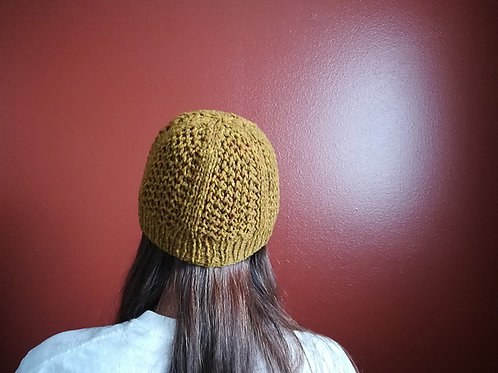 "Be""Hive"" Hat - Knitting Pattern"