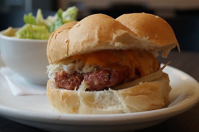 Farmer Sausage Burger