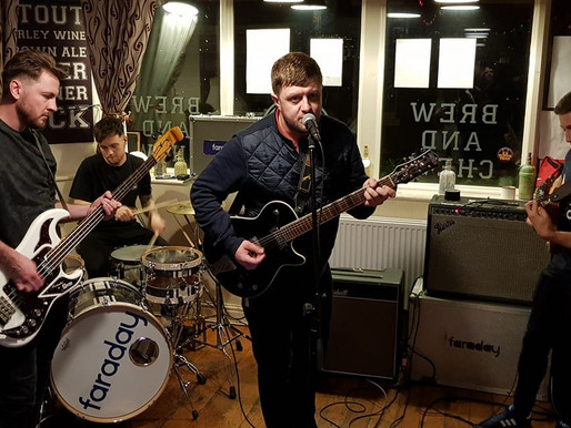 GIG REVIEW  - Faraday & Alan Triggs at Kash 22 - by Tilted Reviews