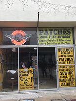 Bulldog leathers storefront