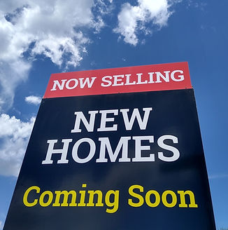 Homes for sale sign