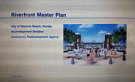 Cover page of Riverfront Master Plan