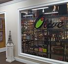 storefron of olive ol store inside a Leesburg emporium