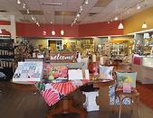 interior of Leesburg gift shop