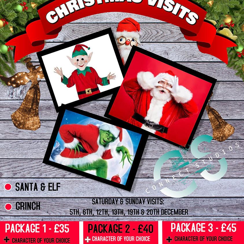 Santa & Elf Visit - Sunday 20th December