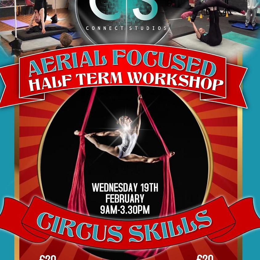 Half Term Aerial & Circus Full Day Workshop
