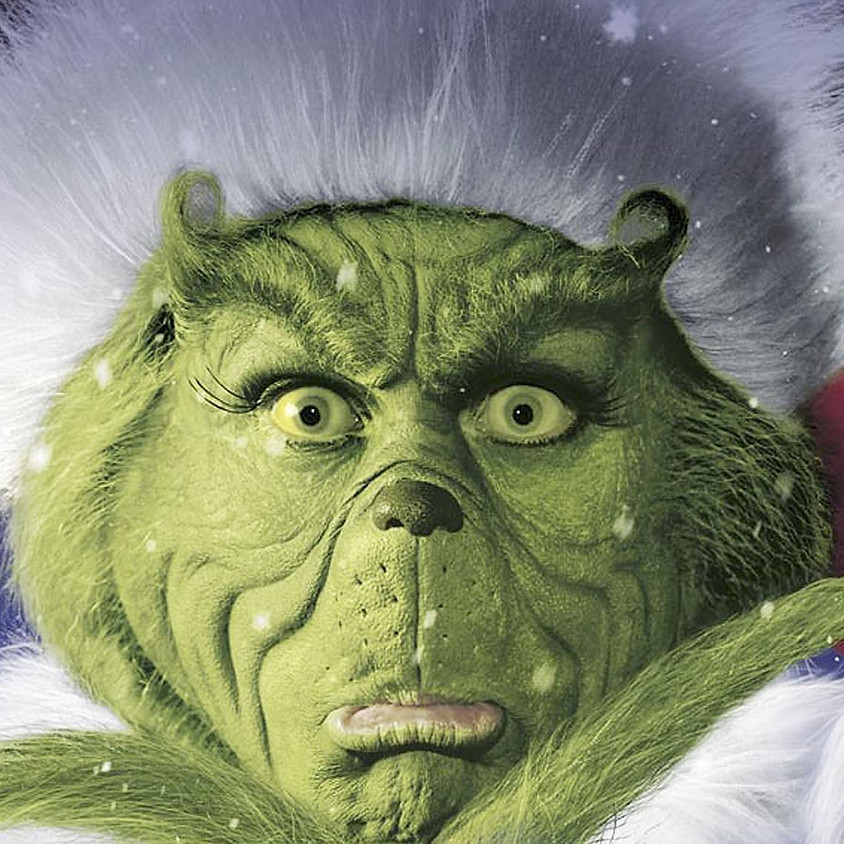 Grinch Visit Saturday 12th December