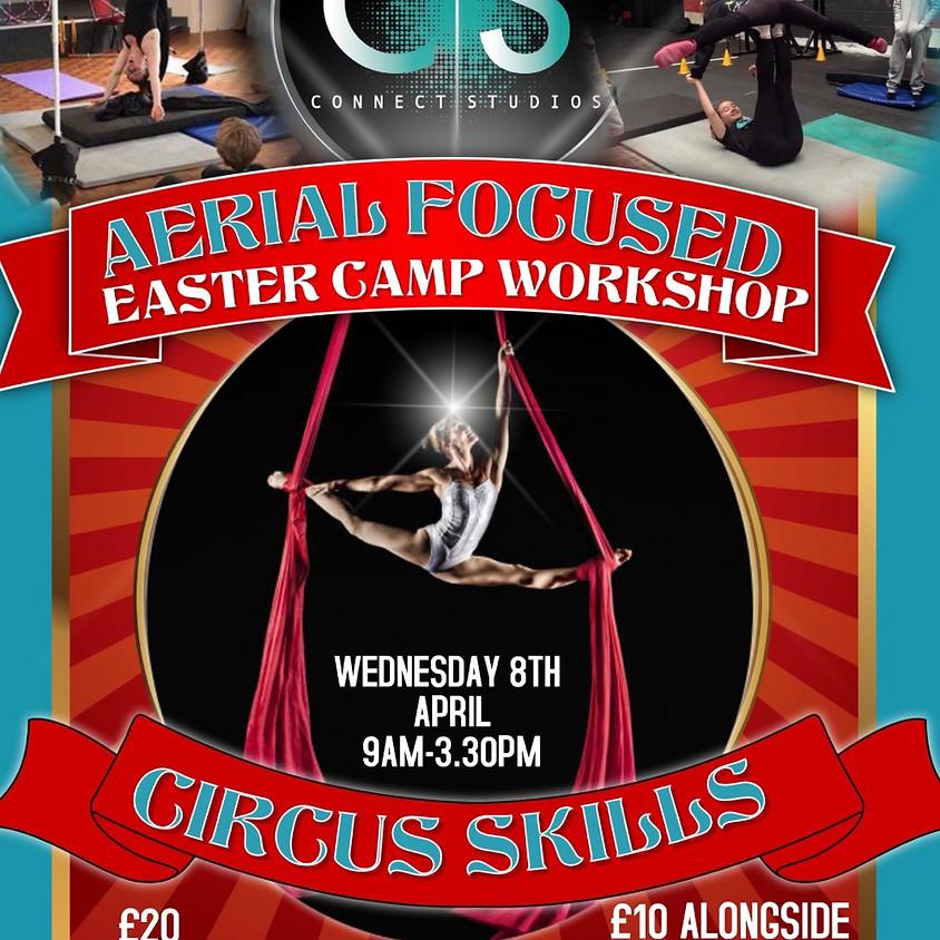 Week 1: Easter Camp with Aerial workshop added
