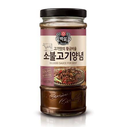 Соус барбекю по-корейски «Бэксоль» для говядины