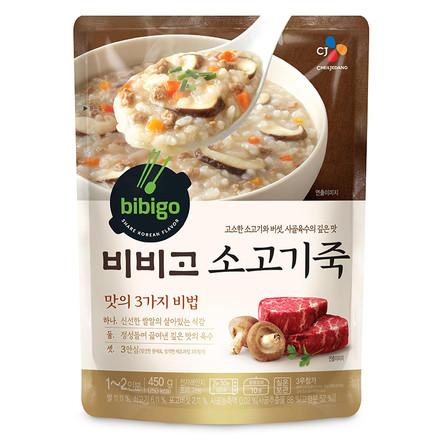 Каша рисовая «Бибиго» с говядиной