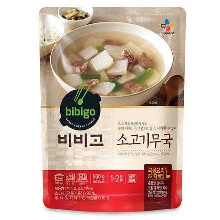Суп из говядины с редькой «Бибиго»