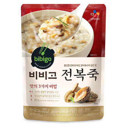 Каша рисовая «Бибиго» с морскими ушками