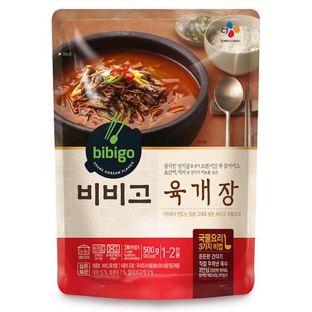 Острый суп из говядины «Бибиго»