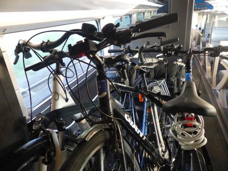 Vélos dans les trains : Oui... mais pas dans 10 ans !