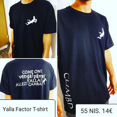 Clim.bd Yalla Factor T-Shirt