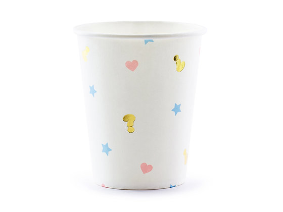 Boy or Girl? Gender Reveal Cups - Pack of 6