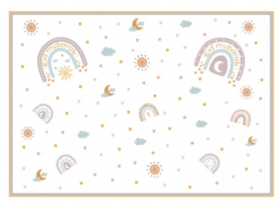 Rainbow Placemats - Pack of 6