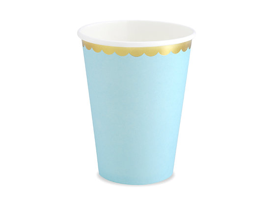 Blue Cups - Pack of 6