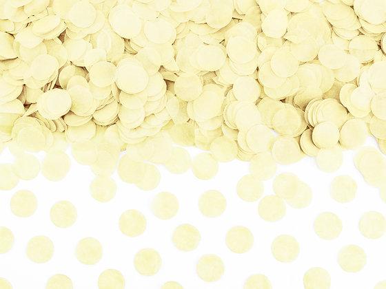 Cream Confetti Circles