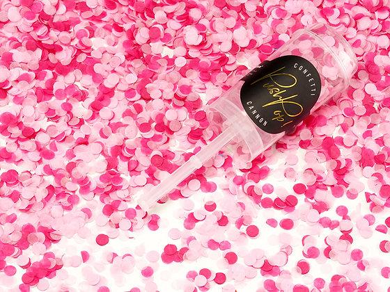 Confetti Push Pop Pink