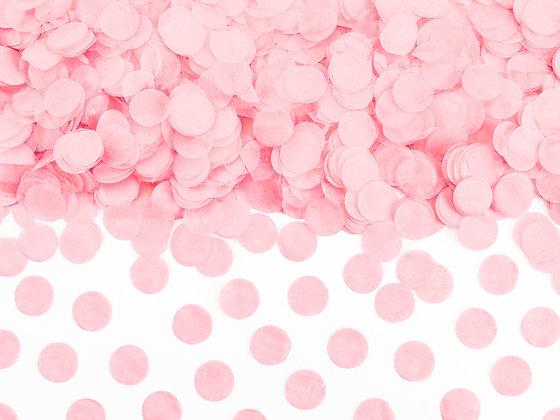 Pink Confetti Circles