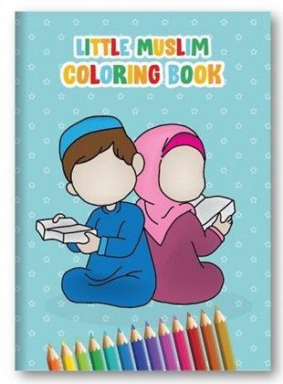 Little Muslim Kids Colouring Book
