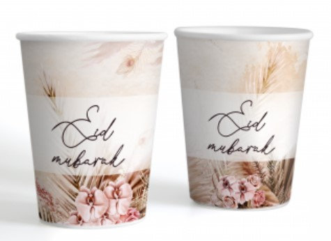 Boho Chic Cups - Pack of 6