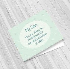 Son Greeting Card