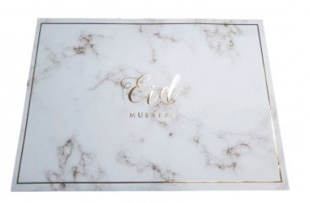 Gold Marble Placemats - Pack of 6