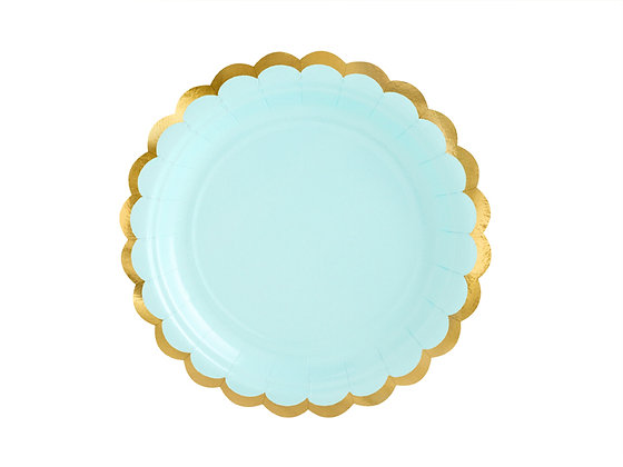 Green Plates 18cm - Pack of 6