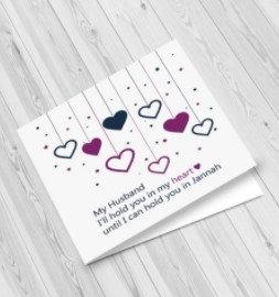 Husband Greeting Card