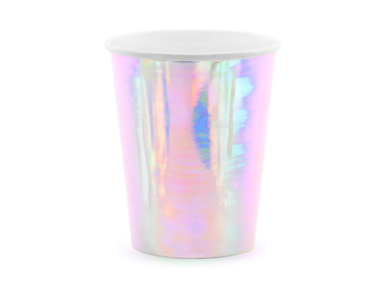 Iridescent Cups - Pack of 6