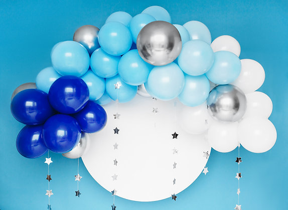 Blue Balloon Arch 200 cm