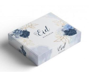 Blue Peonies Gift Box