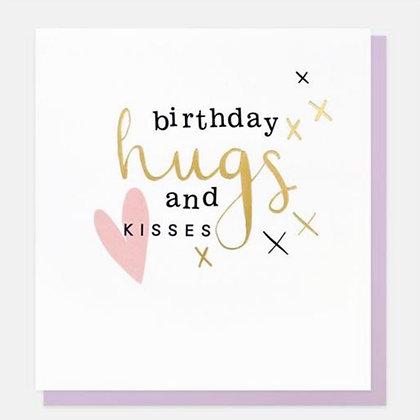 Card - Birthday Hugs & Kisses