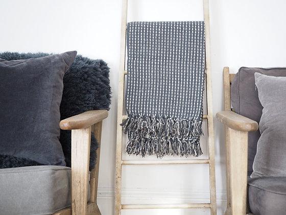 Wooden ladder decor