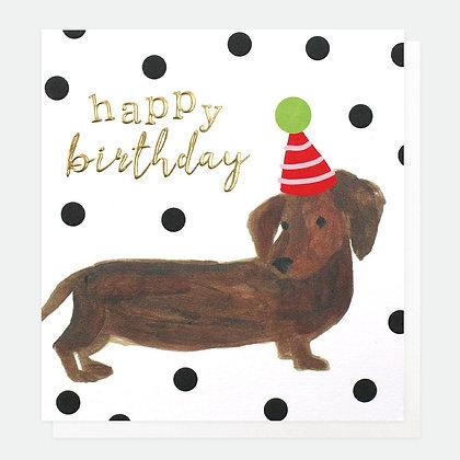 Card - Happy Birthday Sausage