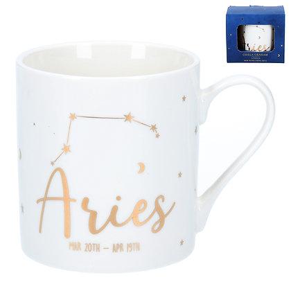 Star Sign Ceramic Mug - Aries