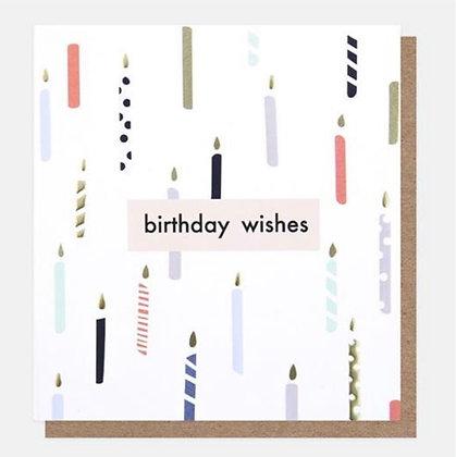 Card - Birthday Wishes