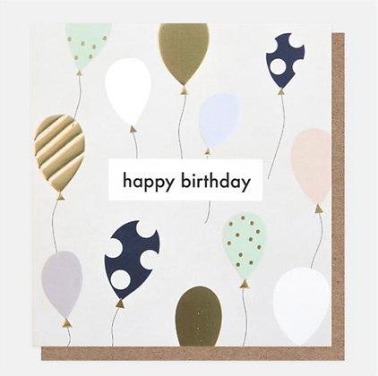 Card - Birthday Balloons