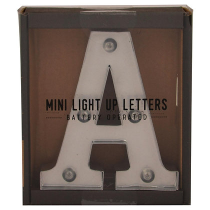 MINI LIGHT UP LETTER