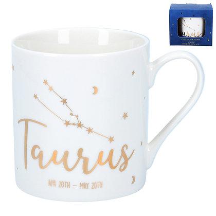 Star Sign Ceramic Mug - Taurus