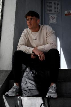 Cassell small centre logo sweatshirt