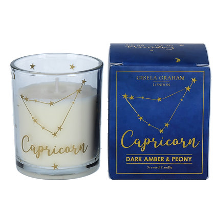 Star Sign Votive Candle - Capricorn