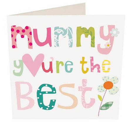 Card - Mummy You're The Best