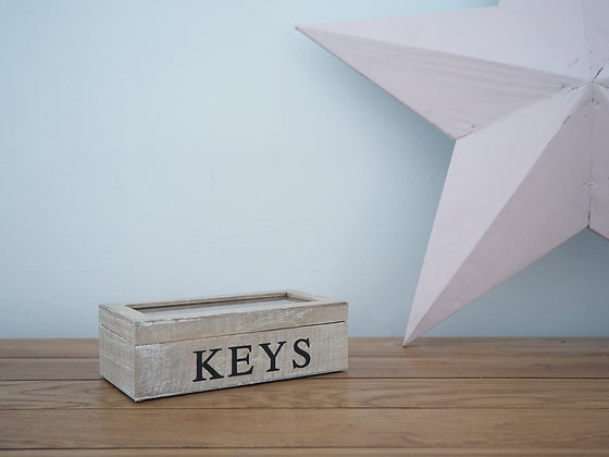 Wooden Keys Box