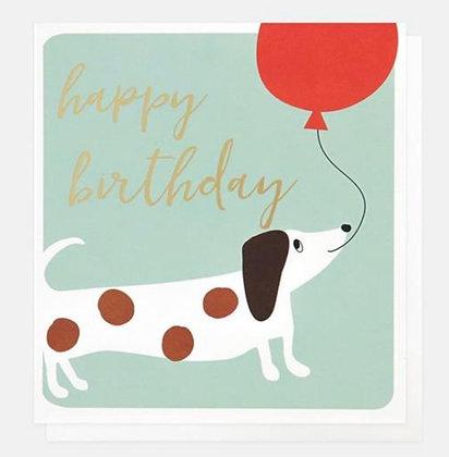 Card - Happy Birthday Balloon