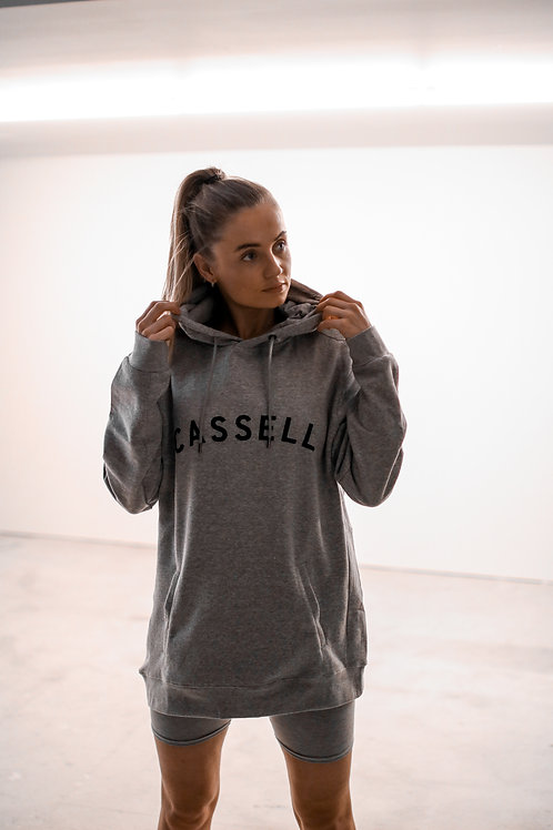 Cassell lifestyle hoodie 2.0 grey