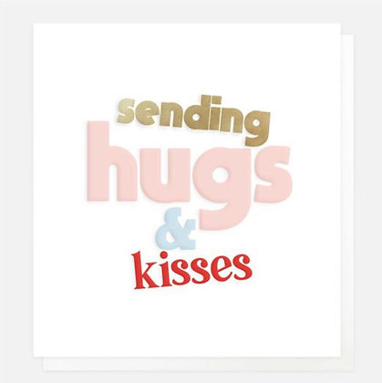 Card - Sending Hugs & Kisses