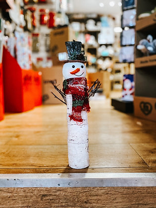 Birch Snowman
